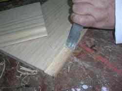 Ensamblaje de la madera: Media madera