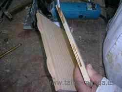 Ensamblaje de la madera: Galleta