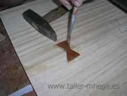 Ensamblaje de la madera: Colas de milano
