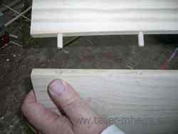 Ensamblaje de la madera: Espigas de madera